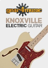 Knoxville Semi-Hollow electric gear4music