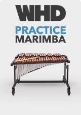 WHD Practice Marimba with Resonators
