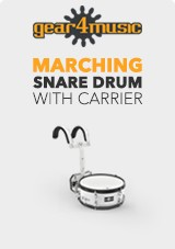 14´ x 5.5´ Marching Snare Drum with Carrier by Gear4music