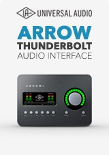 Universal Audio Arrow Thunderbolt Interface